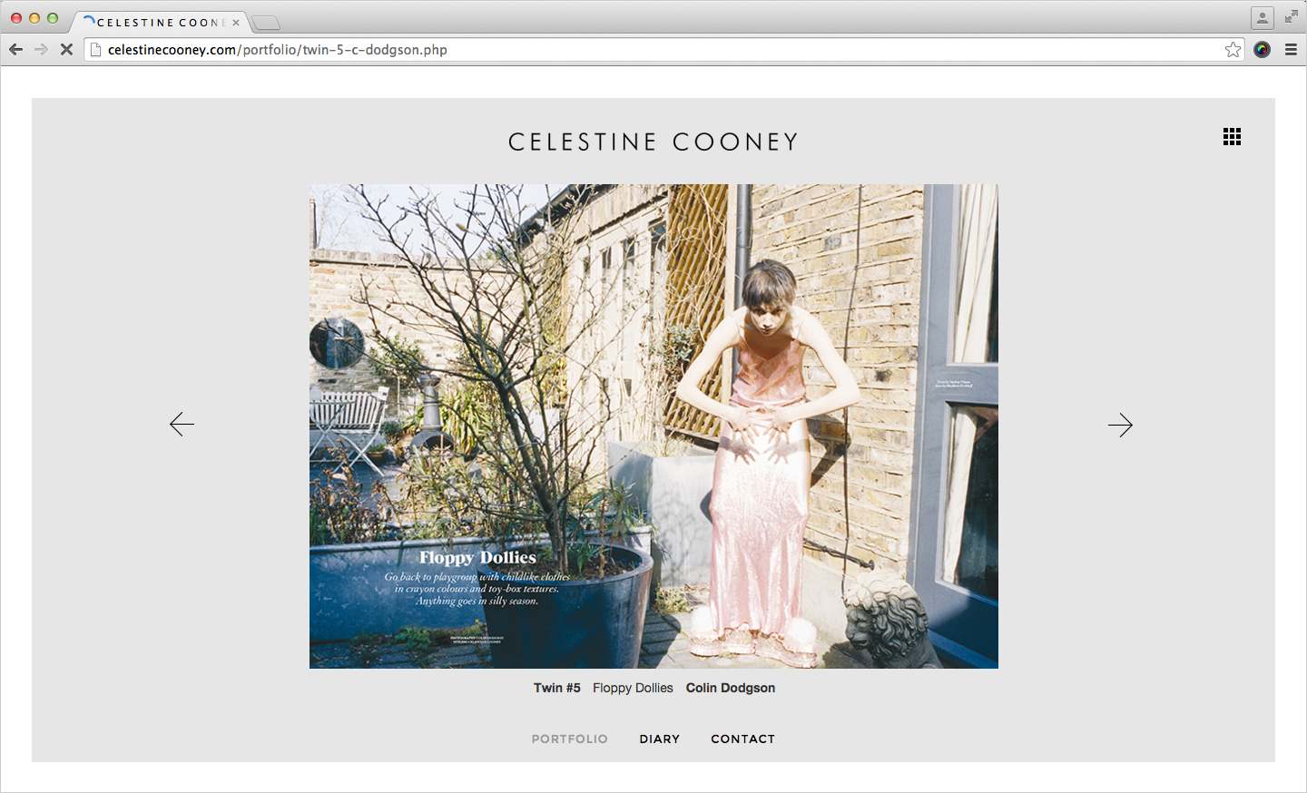 Michelle Grant | Celestine Cooney | Website